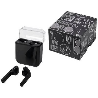 Braavos drahtlose TrueWireless Ohrhörer mit Ladefunktion-schwarz