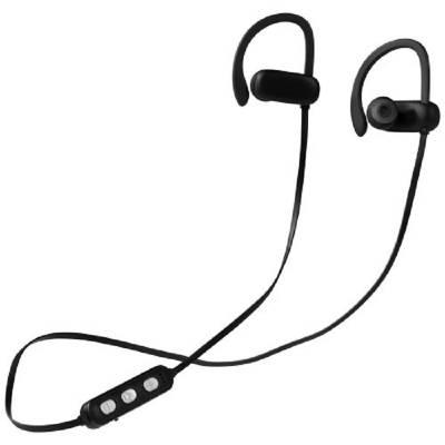 Brilliant Bluetooth-Ohrhörer mit leuchtendem Logo-schwarz