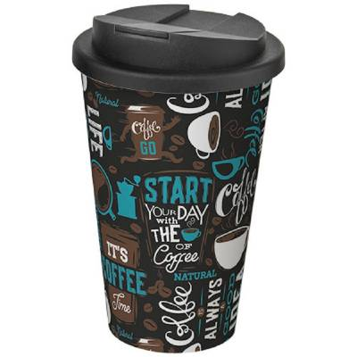 Brite-Americano 350 ml Coffee to go Becher mit auslaufsicherem Verschluss