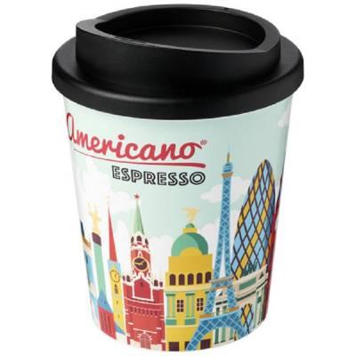 Brite-Americano Espresso 250 ml Isolierbecher-schwarz