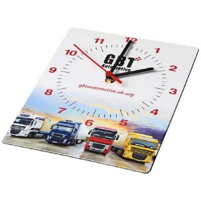 Brite-Clock® rechteckige Wanduhr