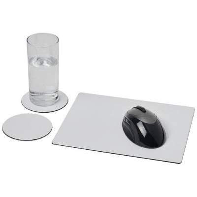 Brite-Mat Mousepad- und Untersetzer-Set 2