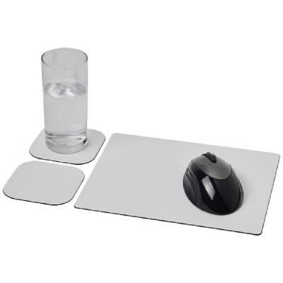 Brite-Mat Mousepad- und Untersetzer-Set 3