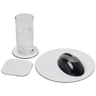 Brite-Mat® Mousepad- und Untersetzer-Set Combo 4