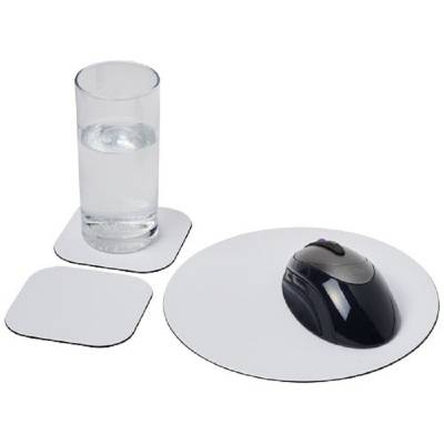 Brite-Mat® Mousepad- und Untersetzer-Set Combo 6