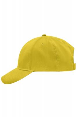 Brushed 6 Panel Cap-MB6118-gelb(hellgelb)-one size