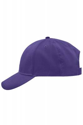 Brushed 6 Panel Cap-MB6118-lila-one size