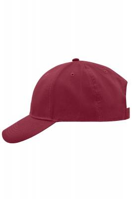 Brushed 6 Panel Cap-MB6118-rot(weinrot)-one size