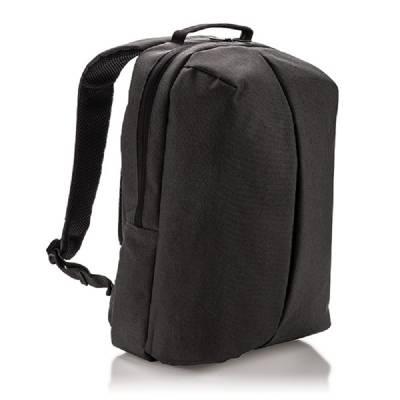 Büro- und Sportrucksack - schwarz