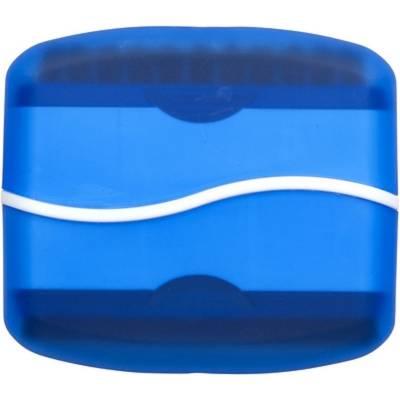 Bürste und Putzer für LCD-blau