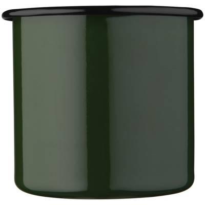 Lagerfeuer-Tasse-grün