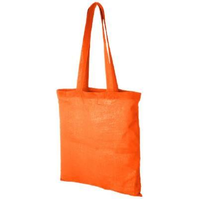Carolina Baumwoll Tragetasche-orange