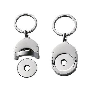 Chip-Schlüsselanhänger Metall