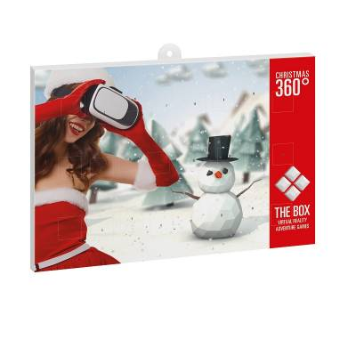 Classic Schoko Wand Adventskalender BUSINESS - 4-farbig