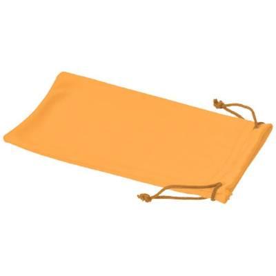 Clean Mikrofaserbeutel für Sonnenbrillen-orange(neonorange)