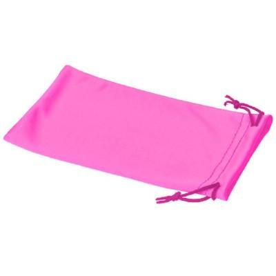 Clean Mikrofaserbeutel für Sonnenbrillen-pink(neonpink)