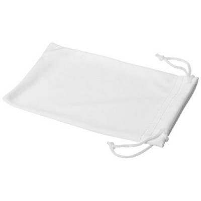 Clean Mikrofaserbeutel für Sonnenbrillen-weiß