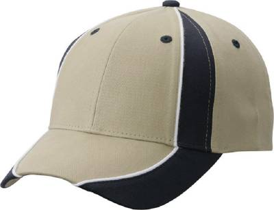 Club Cap-MB135-blau-braun-one size