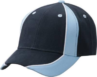 Club Cap-MB135-blau(hellblau)-blau(navyblau)-one size