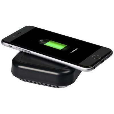 Coast Bluetooth-Lautsprecher und kabelloses Ladepad-schwarz