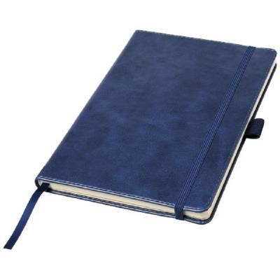 Coda A5-Notizbuch mit Hardcover aus Kunstleder-blau