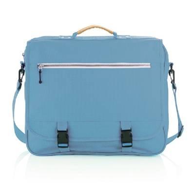 Congress Tasche mit verstellbarem Reißverschluss - blau