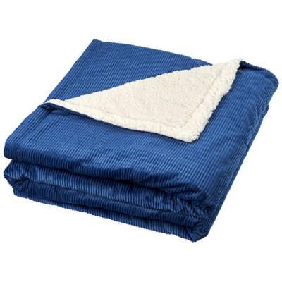 Cosie Kordsamt Sherpa-Decke-blau(navyblau)