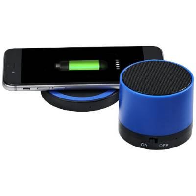 Cosmic Bluetooth-Lautsprecher und kabelloses Ladepad-blau(royalblau)