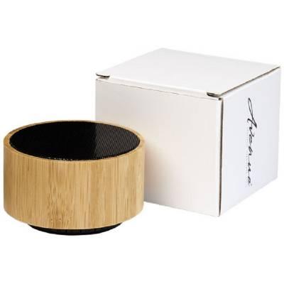 Cosmos Bluetooth® Lautsprecher aus Bambus-schwarz