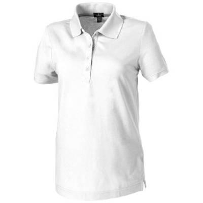 Crandall Damen Poloshirt-weiß-S