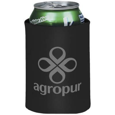 Crowdio zusammenklappbare Getränke Isolierung-schwarz