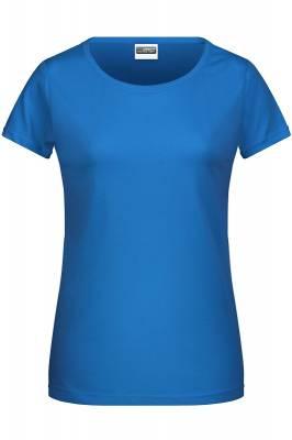 Damen Basic-T 8007-blau(cobaltblau)-XL