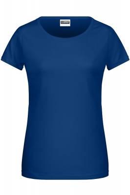 Damen Basic-T 8007-blau(dunkelblau)-XL