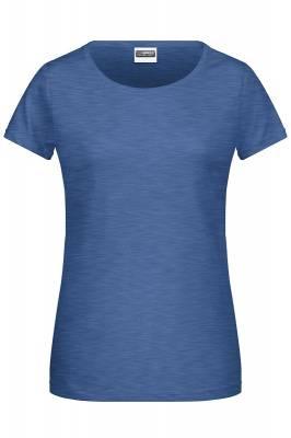Damen Basic-T 8007-blau(hellblau)-XL