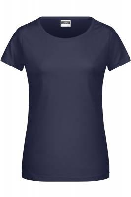 Damen Basic-T 8007-blau(navyblau)-XL