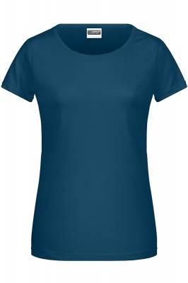 Damen Basic-T 8007-blau(petrolblau)-XXL