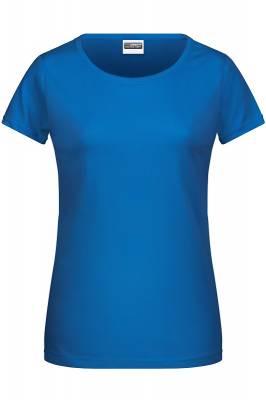Damen Basic-T 8007-blau(royalblau)-XL