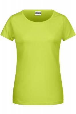 Damen Basic-T 8007-gelb(hellgelb)-S