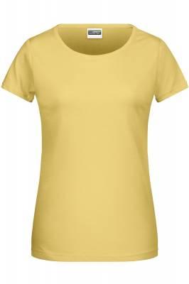 Damen Basic-T 8007-gelb(hellgelb)-XXL