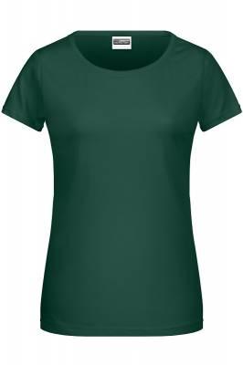 Damen Basic-T 8007-grün(dunkelgrün)-S