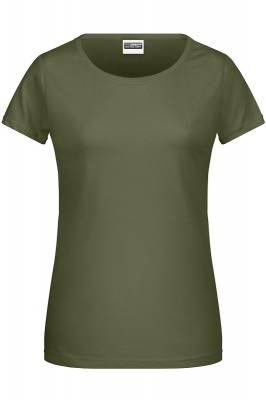 Damen Basic-T 8007-grün(olivgrün)-XS