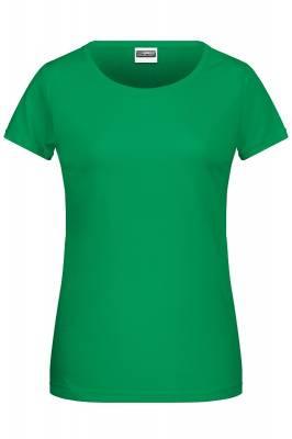 Damen Basic-T 8007-grün(waldgrün)-S