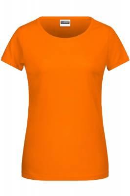 Damen Basic-T 8007-orange(hellorange)-XL