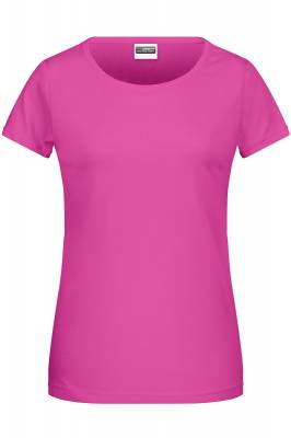 Damen Basic-T 8007-pink-XL