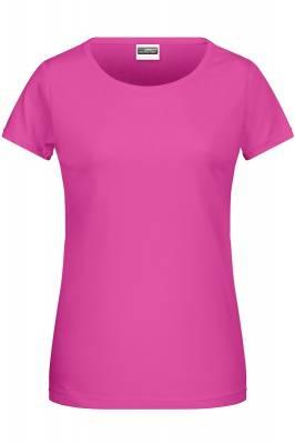 Damen Basic-T 8007-pink-XXL