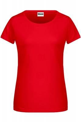 Damen Basic-T 8007-rot(tomatenrot)-XL