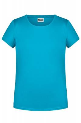 Damen Basic-T 8007-turquoise-S