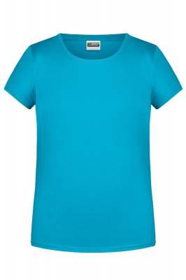 Damen Basic-T 8007-turquoise-XS