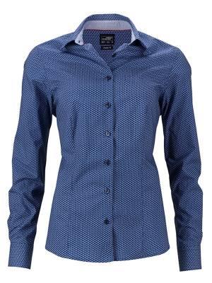 Damen Bluse Wings JN671-blau(navyblau)-XS