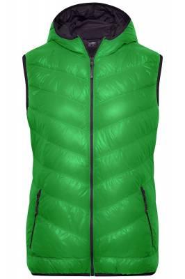 Damen Down Weste JN1061-grün-XXL